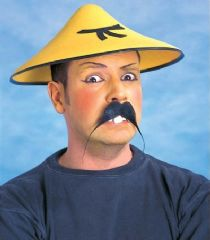Chinese Man Felt Hat